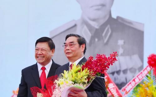Ông Lê Hồng Anh và Ông Trần Văn Rón